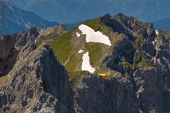 Bergwelt Karwendel– Eine auskragende Betonröhre auf 2.244 Metern