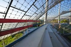 Olympiastadion München: Randbalken West-Tribüne