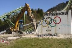 Große Olympiaschanze, Garmisch-Partenkirchen, Abbruch
