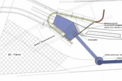 Planung der Heberleitung im Petuelpark